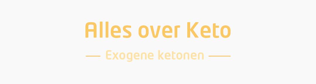 Exogene ketonen