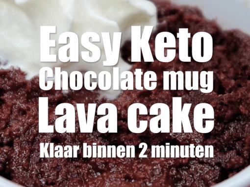 Mug lava cake