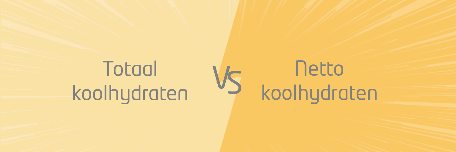 Koolhydraten vs. netto-koolhydraten
