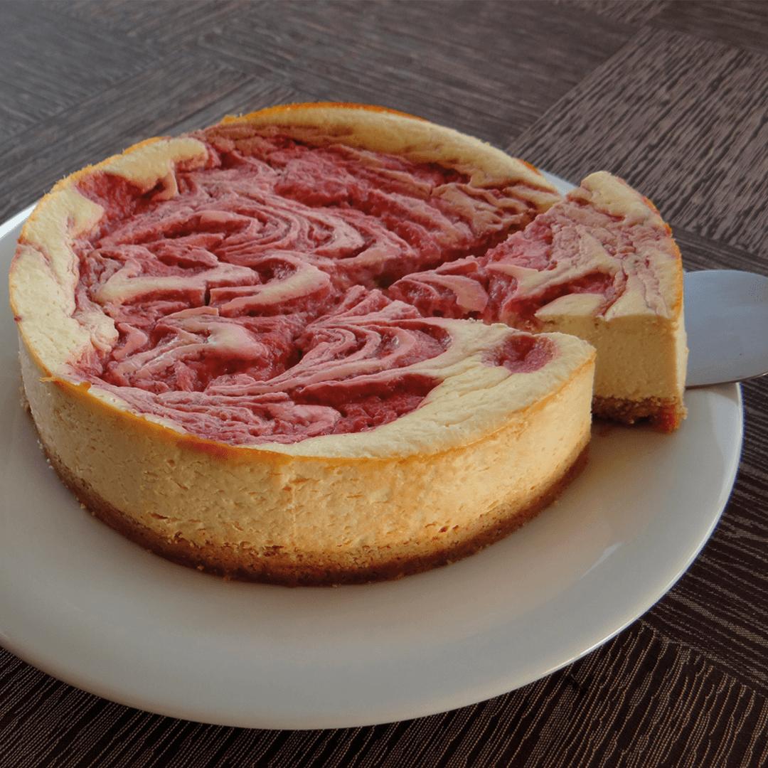 Keto aardbeien cheesecake recept